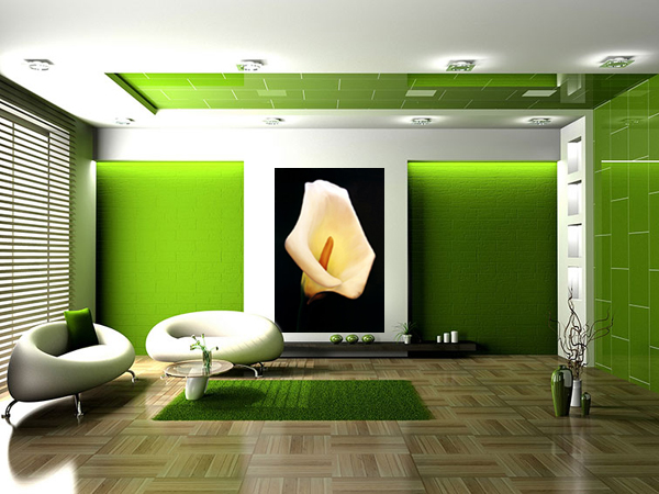 Calla Lily by Anni Adkkins Room Setting